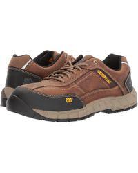 Caterpillar - Men's Streamline Composite Toe Work Shoe - Lyst