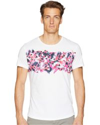 Orlebar Brown - Ob-t Birds Of Paradise Tailored Fit Crew Neck T-shirt (birds Of Paradise) Men's T Shirt - Lyst