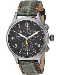 Timex - Allied Chrono Canvas (khaki/beige) Watches - Lyst