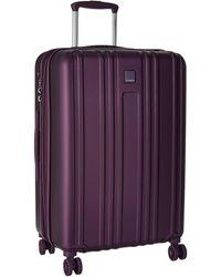 Hedgren Transit Gate Medium Expandable Spinner Luggage - Purple
