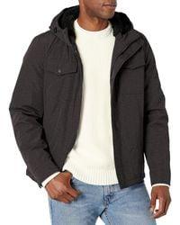Dockers Arctic Cloth Sherpa Storm Jacket - Gray