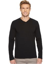 Mod-o-doc - Cardiff Long Sleeve Jersey V-neck Tee (new Navy) Men's T Shirt - Lyst