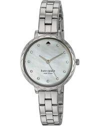 Kate Spade Morningside Mother - Of - Pearl Dial Watch - Metallic