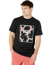 Vans Classic Print Box Short Sleeve Tee Clothing - Black