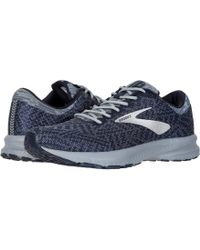 124ec8c0870 Lyst - Brooks Launch 6 (blue nightlife white) Men s Running Shoes ...