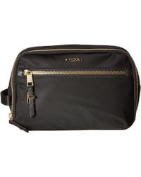 bd462485593c Tumi - Voyageur Erie Double Zip Cosmetic Case (black) Handbags - Lyst