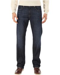 7 For All Mankind - Austyn Relaxed Straight 32 No Break (los Angeles Dark) Men's Jeans - Lyst