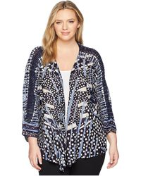 NIC+ZOE - Plus Size Pacific Coast Four-way Cardy - Lyst