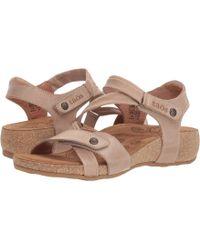 Taos Footwear - Universe (camel) Women's Hook And Loop Shoes - Lyst