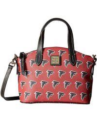 Dooney & Bourke - Nfl Signature Ruby Bag (navy/black Seahawks) Bags - Lyst