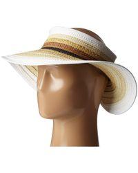 44882567a2f12 San Diego Hat Company - Pbv007 Paper Braid Adjustable Roll Up Visor With  Ribbon Edge (