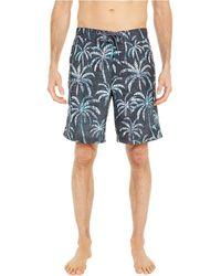 Tommy Bahama Baja Palm Shady Swim Trunks - Gray