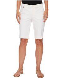 Lauren by Ralph Lauren - Stretch Cotton Shorts (white) Women's Shorts - Lyst