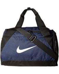 b4244dffaaeb Nike - Brasilia Small Duffel Bag (midnight Navy black white) Duffel Bags