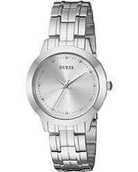 Guess - U0989l1 (silver) Watches - Lyst