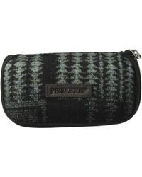 Pendleton - Glasses Case (red/charcoal Mix Buffalo Check Ombre) Wallet - Lyst