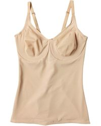 Miraclesuit Extra Firm Sexy Sheer Shaping Underwire Camisole - Natural