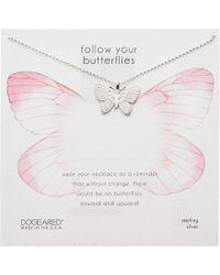 Dogeared - Follow Your Butterflies Large Beautiful Butterfly Necklace - Lyst