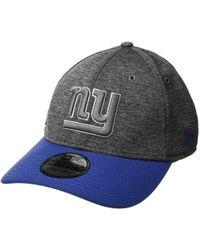 KTZ - New York Giants 3930 Home (dark Grey) Baseball Caps - Lyst 91a9597e2