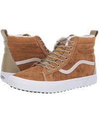 Vans - Sk8-hi Mte ((mte) Suede/chocolate Torte) Skate Shoes - Lyst