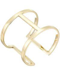 Vince Camuto - Sculptural Open Cuff Bracelet (gold) Bracelet - Lyst