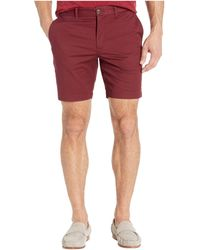 Original Penguin 8 Basic Shorts With Stretch - Red