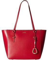 Lauren by Ralph Lauren - Bennington Shopper Medium (red) Handbags - Lyst