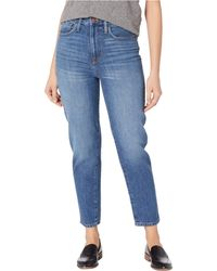 Madewell The Momjean In Stratfield Wash - Blue
