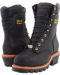 Chippewa - 9 Waterproof Insulated Super Logger (bay Apache) Men's Work Boots - Lyst