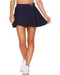 Fila - Lauryn Tennis Skirt (black) Women's Skirt - Lyst