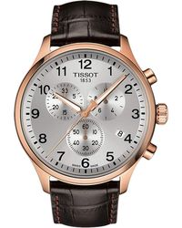 Tissot - Chrono Xl Classic - T1166173603700 (brown) Watches - Lyst