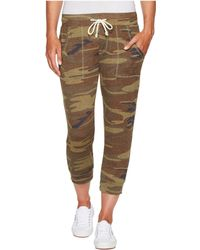 Alternative Apparel - Eco Cropped Jogger (camo) Women's Casual Pants - Lyst