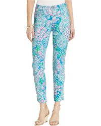 Lilly Pulitzer Kelly High-rise Knit Skinny Pants - Blue