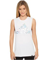 adidas - Badge Of Sport Digicraft Muscle Tank Top - Lyst