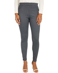 Sanctuary - Runway Ponte Leggings With Functional Pockets In Alpine Plaid - Lyst