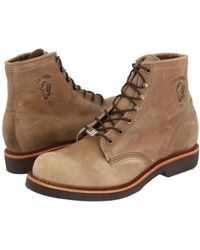 Chippewa - American Handcrafted Gq Tan Rodeo Boot (tan) Men's Work Lace-up Boots - Lyst