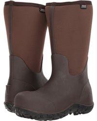 Bogs - Workman Composite Toe (brown) Men's Boots - Lyst