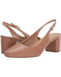 A2 By Aerosoles Silver Age (light Tan Dakota) 1-2 Inch Heel Shoes - Brown