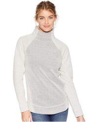 Prana - Brandie Sweater (charcoal Heather) Women's Sweater - Lyst