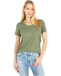 Alternative Apparel Kimber Slinky Jersey Short Sleeve Tee - Green