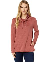 Toad&Co - Cold Spring Pullover (deep Navy Stripe) Women's Clothing - Lyst