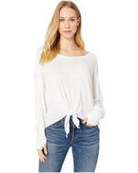 Lucy Love - Sunrise Top (white) Women's Clothing - Lyst