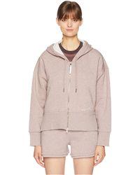 adidas By Stella McCartney - Essentials Hoodie Cz2286 (tanned Sand Mel Smc) Women's Sweatshirt - Lyst