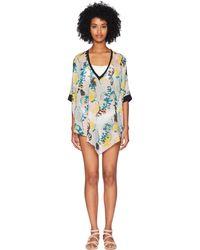 M Missoni - Sea Print Caftan (sea) Women's Clothing - Lyst