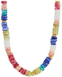 Madewell Pacific Puka Necklace - Multicolor