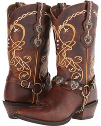 Durango - Crush Cowgirl Boot (brown) Cowboy Boots - Lyst