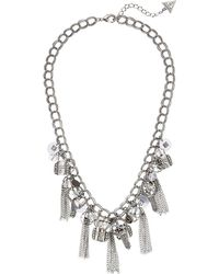Guess - S Charmy Necklace - Lyst