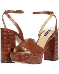Nine West Zenna Sandals - Natural