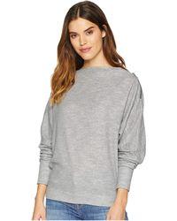 Free People - Nikala Tee (grey) Women's T Shirt - Lyst