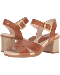 Pikolinos - Denia W2r-1638 (brandy) Women's Hook And Loop Shoes - Lyst